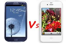 InfoGraphics iPhone VS Samsung Galaxy S3-zezr