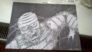 draw mummy commission