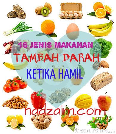 16 JENIS MAKANAN TAMBAH DARAH UNTUK IBU HAMIL - Kesihatan ...