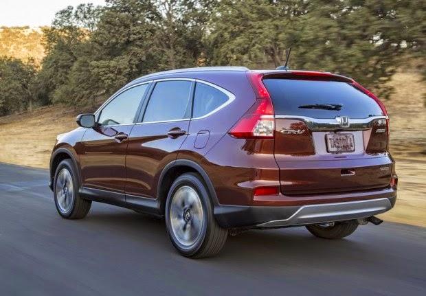 Novo Honda Crv 2015 fotos suv americano