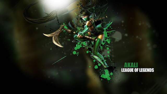 Akali in League of Legends