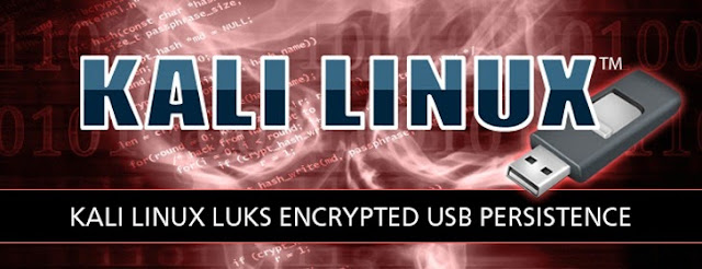 Kali Linux 1.0.7 Persistent Encrypted Partition USB