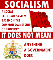 Socialism is not BIG GOVERNMENT