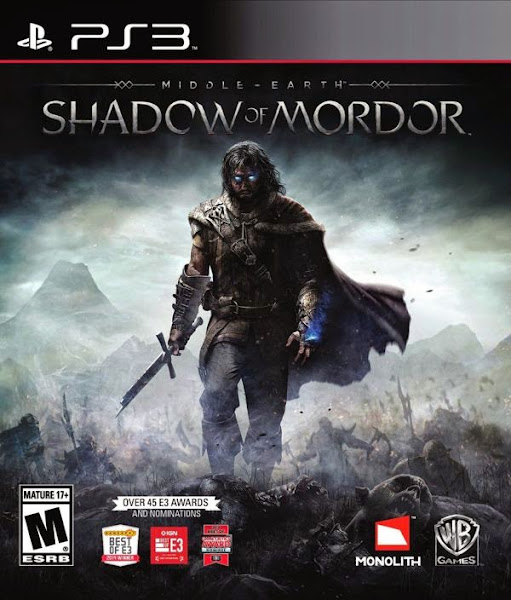 Middle Earth Shadow Of Mordor PS3 Region USA Latino
