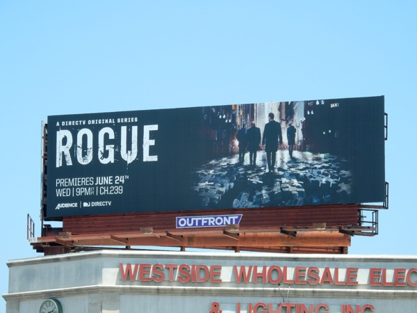 Rogue season 3 billboard