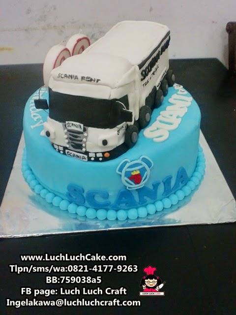 Kue Tart Scania Truck Daerah Surabaya - Sidoarjo