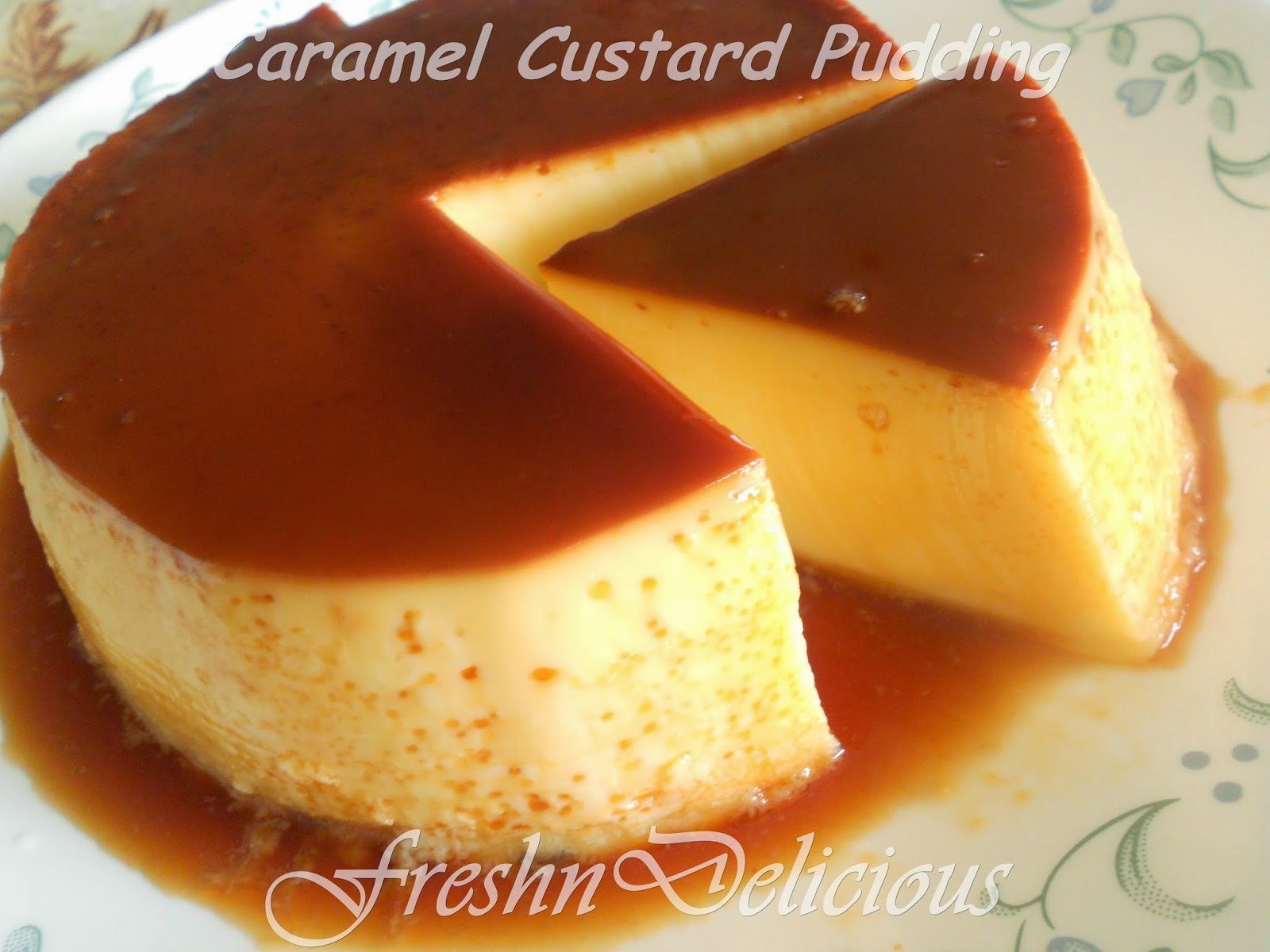 Caramel custard recipe with pictures