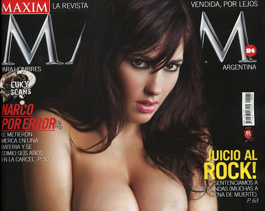Jesica Hereñu Revista Maxim Argentina