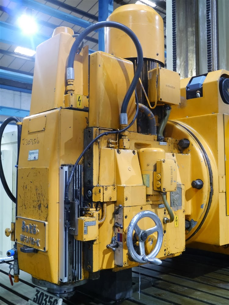 Boko CNC vertical milling machine head