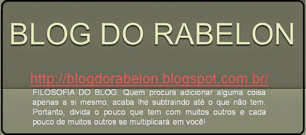 BLOG DO RABELON