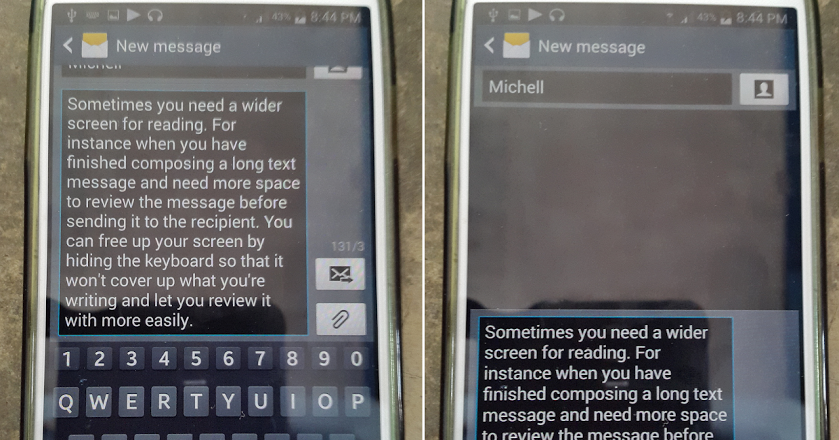 how to change text message keyboard layout on samsung