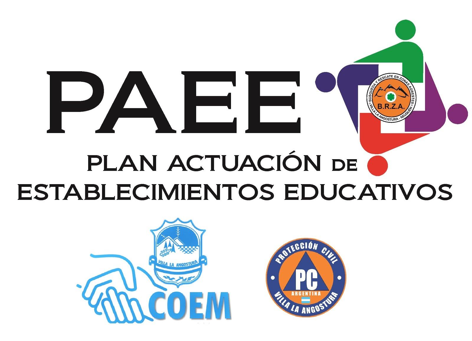 Plan de Actuación Establecimientos Educativos ante Emergencias