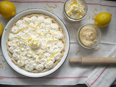 Creme Fraiche Lemon Pie To Go