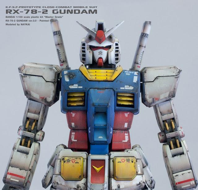 Master Grade model kit RX-78-2 Gundam ver.3.0