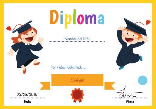 certificados y diplomas para editar e imprimir recursos graficos