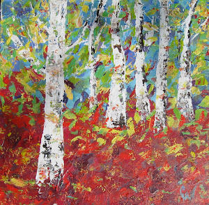 Six Birch Trees