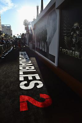Premiere de Os Mercenários 2 (The Expendables 2) em LA.