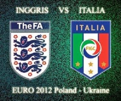 Penyisihan Group D : Inggris Vs Italia