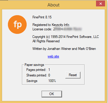 FinePrint v919 PdfFactory Pro 619 Crack Full Keygen Free