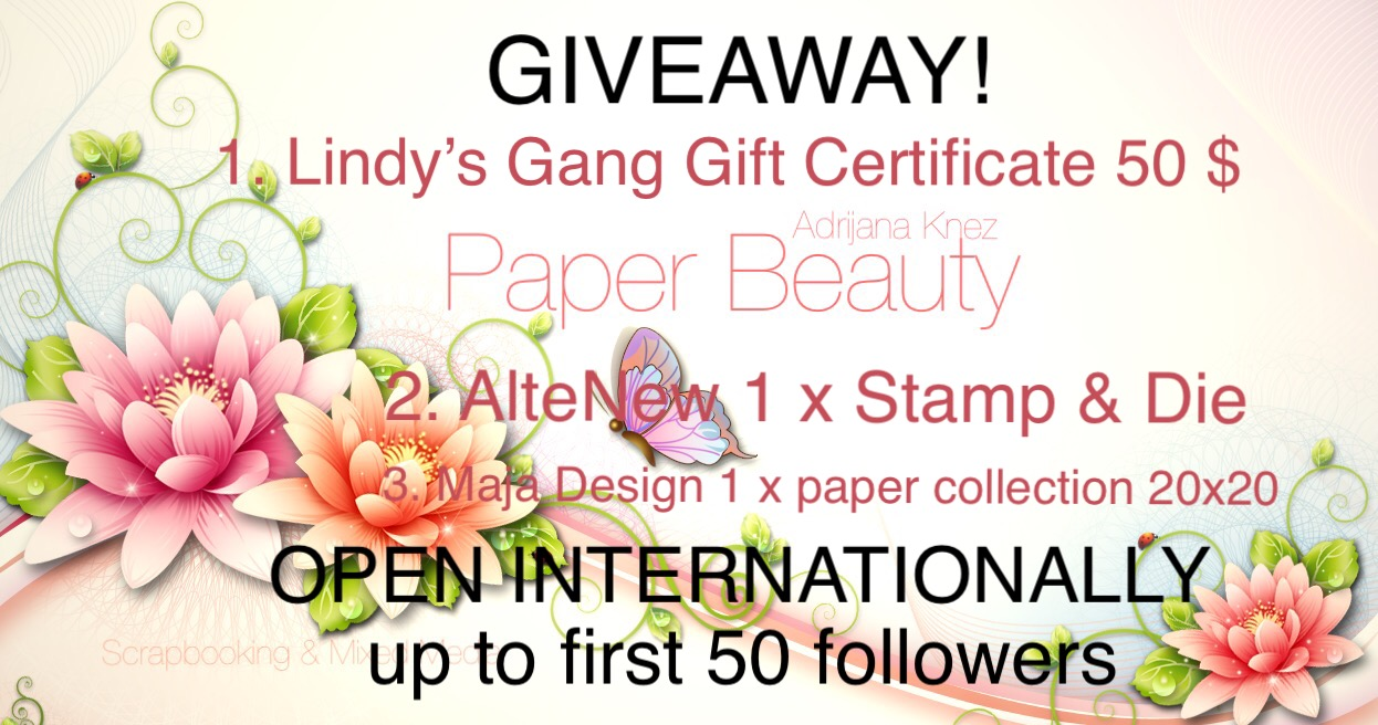 GIVEAWAY! BONBONČEK! - Paper Beauty