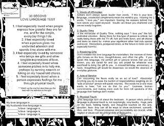 titus 2 women love language test printable. Black Bedroom Furniture Sets. Home Design Ideas