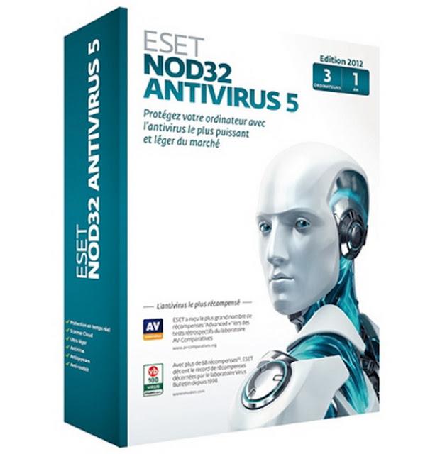 descargar antivirus eset nod32 5 gratis