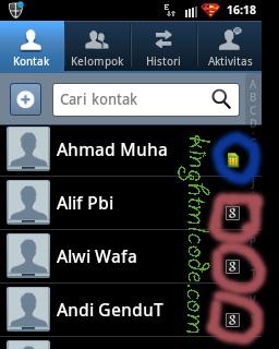 cara menyalin kontak dengan mudah, backup kontak smartphone, Sync with Gmail Account,