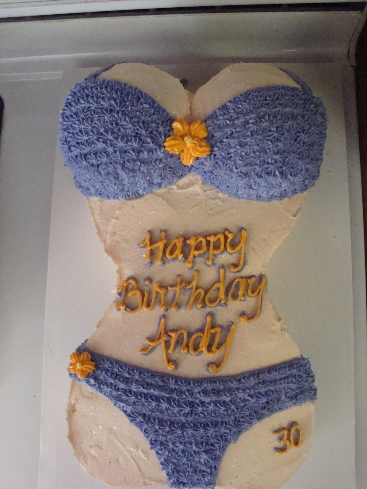 Bikini Cake Anyone Double Layer Mimis Sweets