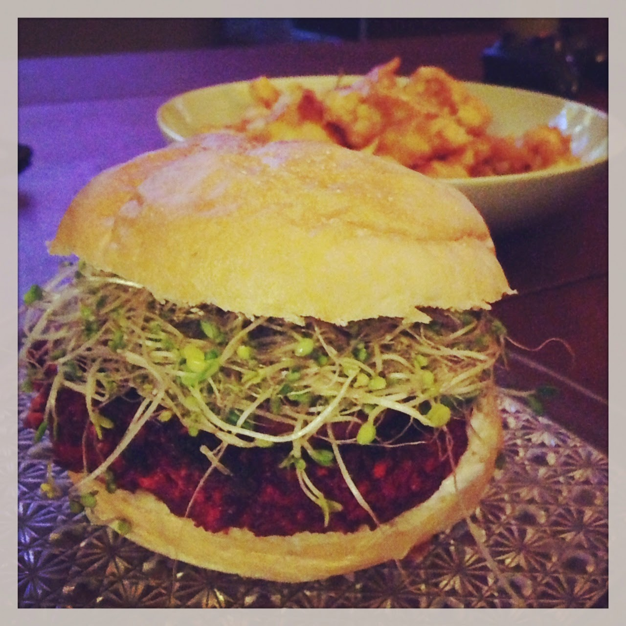 Beet burger - vegan