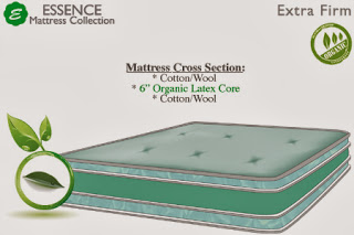 The Futon Shop Serenity Latex Mattress