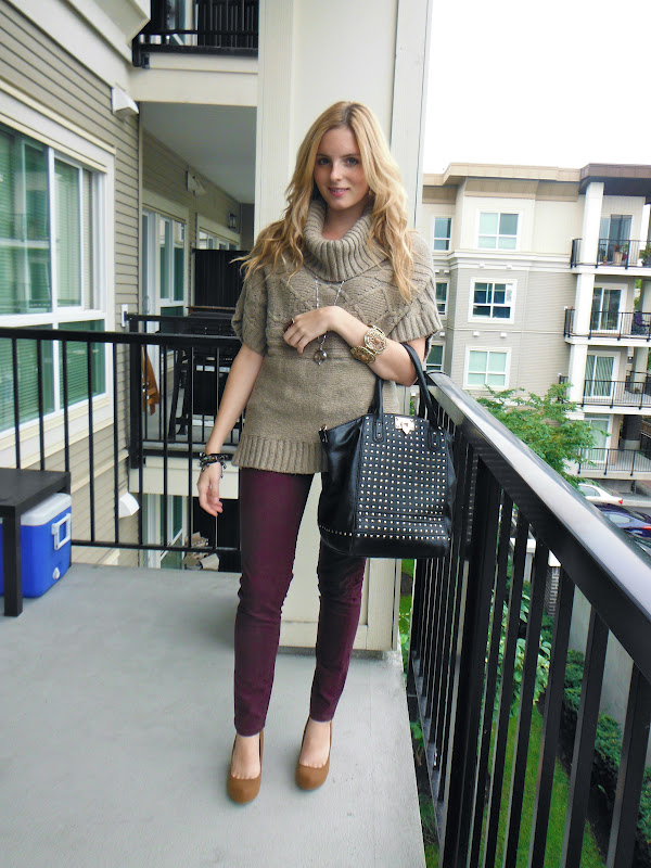How to Style a Oversized Sweater