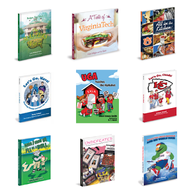 Mascot Books for sports fans