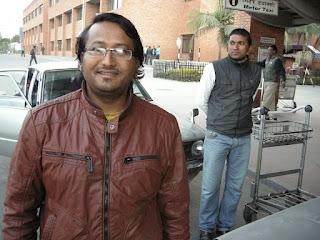 taxi driver in Kathmandu