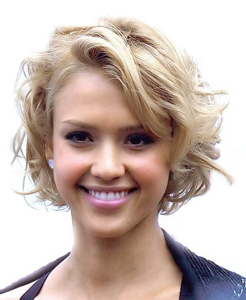The Appealing Trendy Curly Short Celebrity Hairstyles Picture