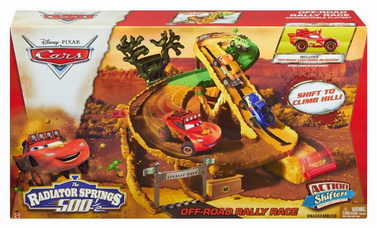 Libros y juguetes 1demagiaxfa juguetes disney cars 2 circuito carreras todoterreno off - Juguetes de cars disney ...