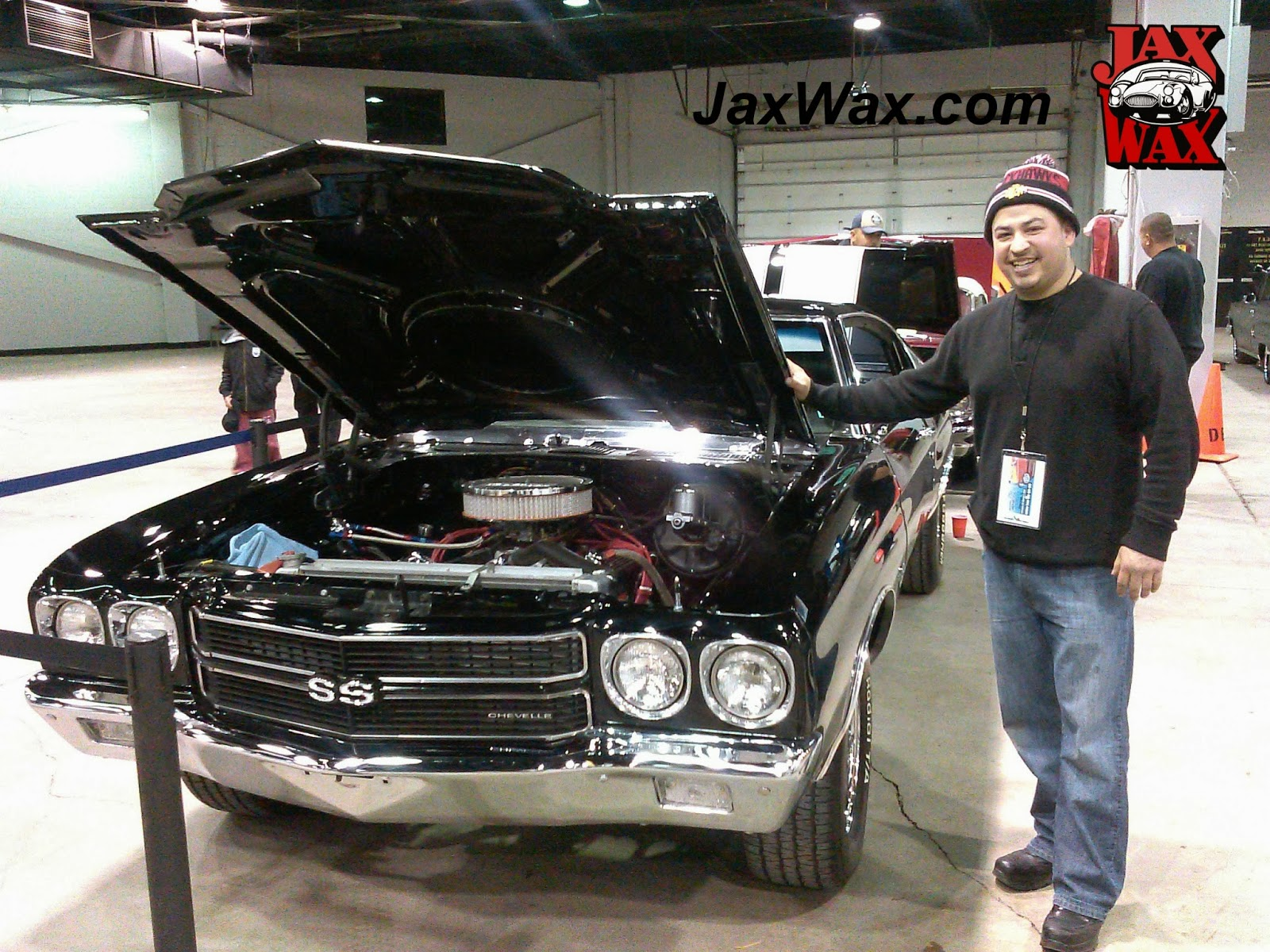 1970 Chevy Chevelle SSJax Wax Customer Chicago World of Wheels