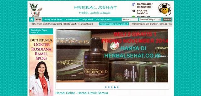 Herbalsehat.co.id Toko Online Produk Herbal Terpercaya