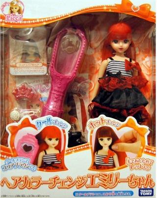 bup be licca emily doi mau toc Giới thiệu các bạn các đồ chơi cho bé từ một đến ba tuổi nên chọn lựa