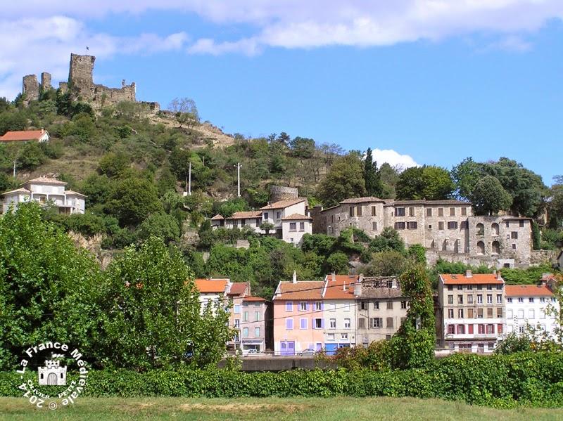 VIENNE (38) - Le château de la Bâtie