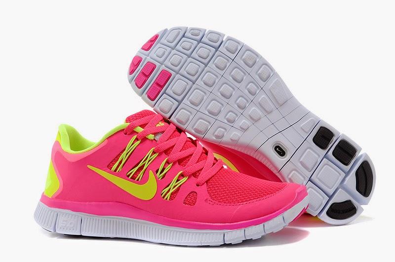 Neon Pink Nike Free Run 3 Womens 2012 Running Shoes