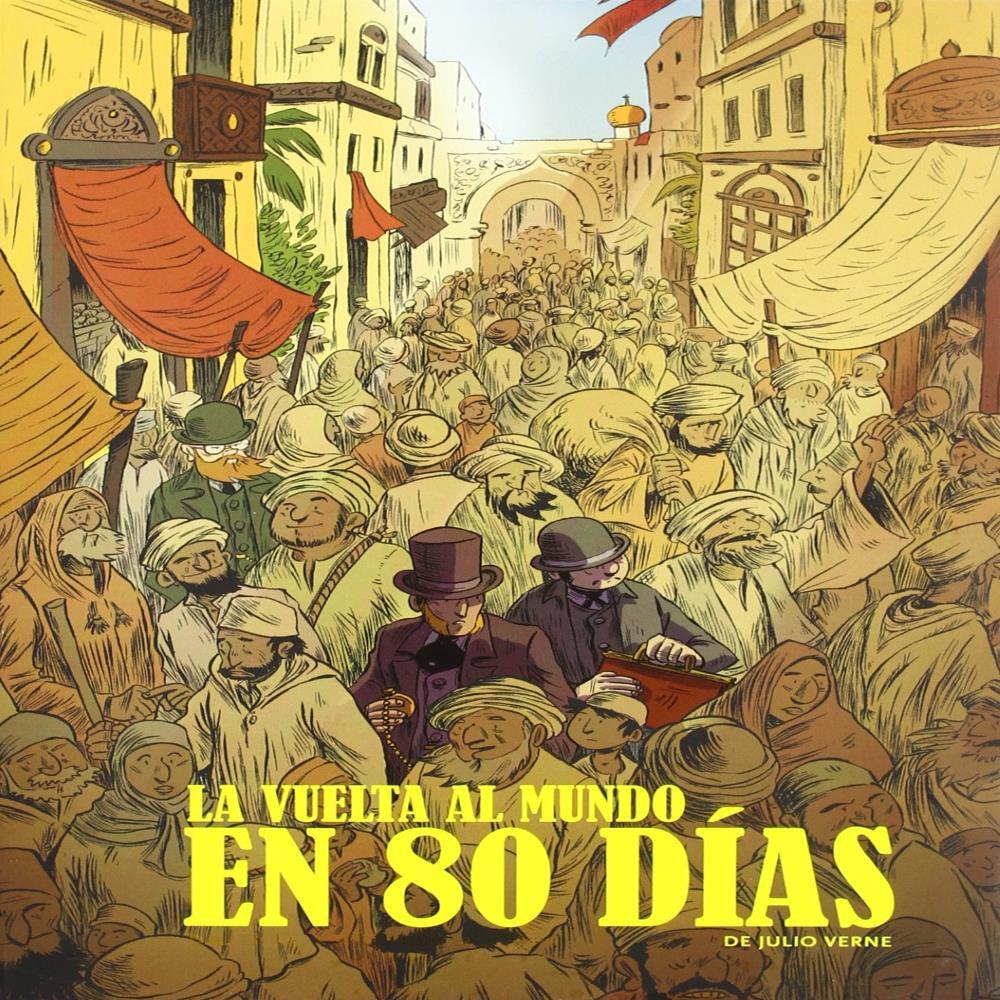 La Vuelta al Mundo en 80 días - Jules Verne [Audio][MG/MF]