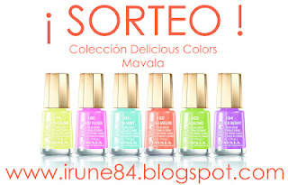 SORTEO: COLECCIN DELICIOUS COLORS * MAVALA. BLOG DE IRU