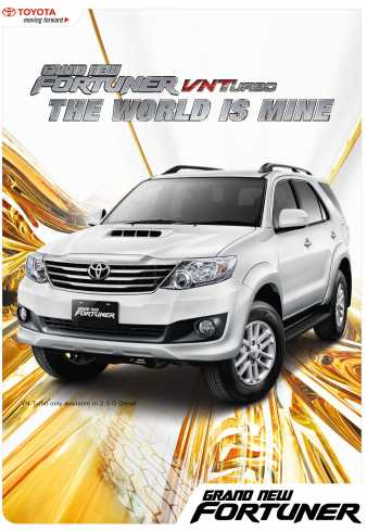 Toyota Grand New Fortuner VNT SUV Terbaik