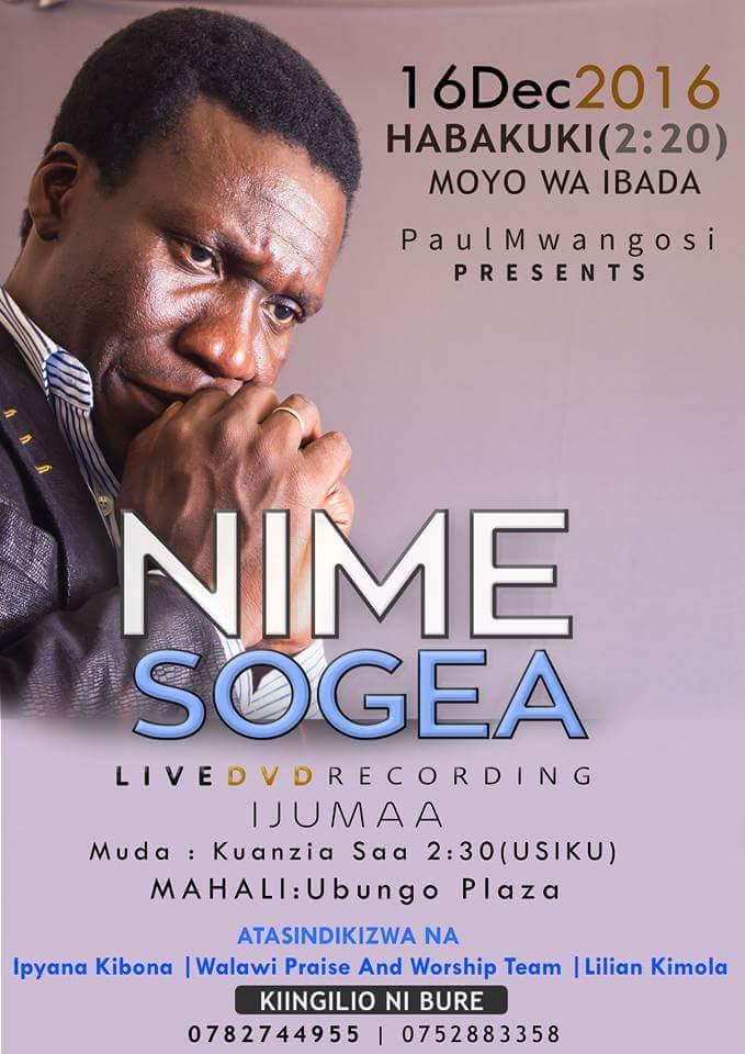 NIMESOGEA DVD LIVE RECORDING