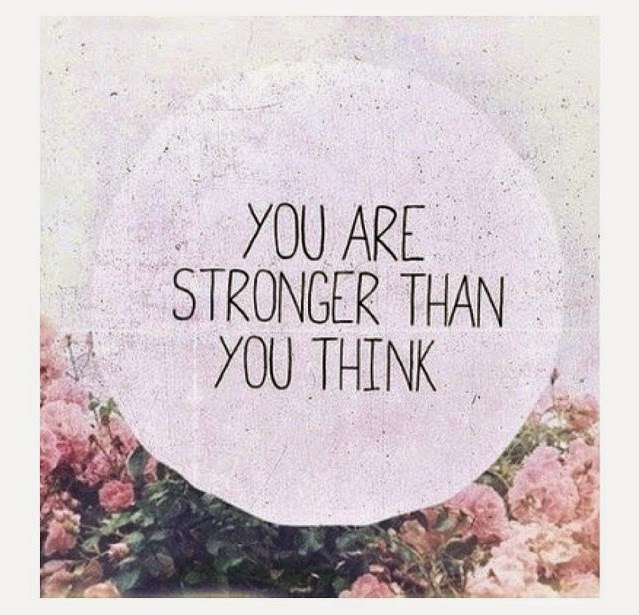 Monday Motivation - You Are Stronger Than You Think