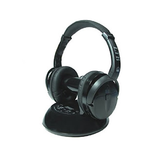 LTB Q-HOME-FX True 5.1 Surround Sound Stereo Wireless Headphones