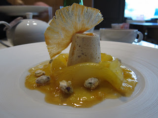 Pineapple Dessert at CottoCrudo Prague