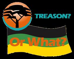 fnb, treason, anc flag graphic image