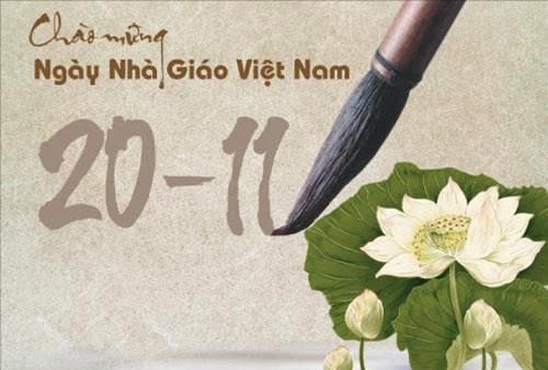 Hình ảnh đẹp chúc mừng ngày nhà giáo Việt Nam 20-11