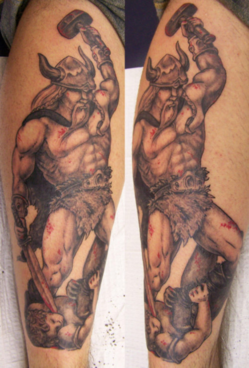 Viking Tattoo Is Not Very Common, But For Those Who Wear Them, They